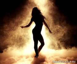 Sexy Dancing Girl Wallpaper 1