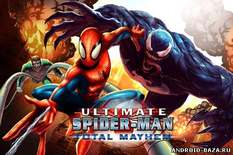 Скачать Spider-Man: Total Mayhem на android