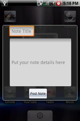 Sticky Note — Блокнот на планшет