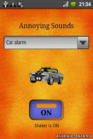 Annoying Sounds Button — Звуки Андроид