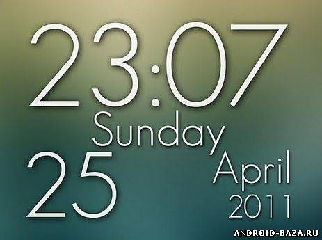 Скачать Super Clock Wallpaper Pro — Виджет на android