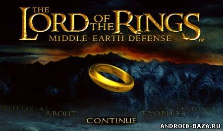 Приложение The Lord of the Rings: Middle earth Defense андроид