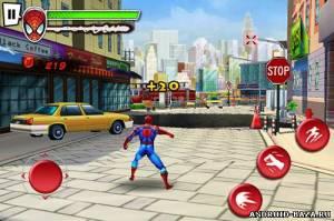 Spider-Man: Total Mayhem на телефон