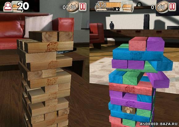 Jenga — Логическая Игра на телефон