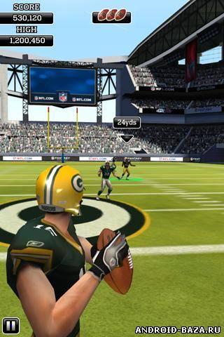 NFL Rivals — Регби. Скриншот 2