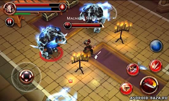 Миниатюра Dungeon Hunter — RPG Игра Android