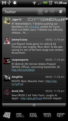 Скриншот LauncherPro Plus — Рабочий стол на планшет