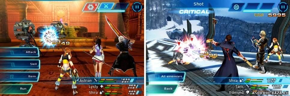 Скриншот Eternal Legacy HD — RPG Игра на планшет