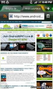 Миниатюра Dolphin Browser HD Android