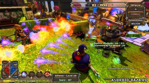 Картинка Dungeon Defenders — Бесплатная Онлайн RPG Игра на телефон