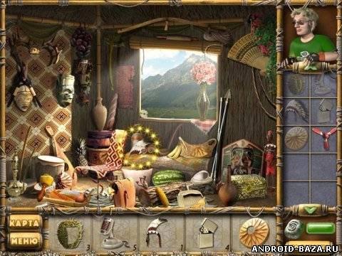 Скриншот Остров секретов — Квест на планшет