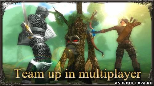Скриншот Earth And Legend HD — 3D RPG на планшет