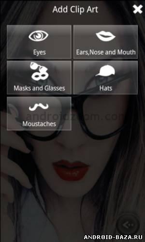 Скриншот Liquid Face на планшет