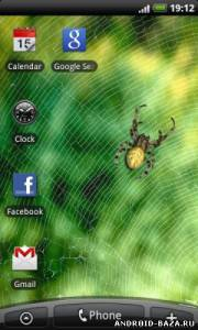 "Spider — Живые Обои ""Паук"". Скриншот 3"