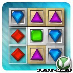 Картинка Головоломки андроид Jewels Maze! — Три в Ряд
