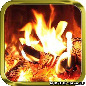 Живые обои Fireplace Wallpaper -  Камин