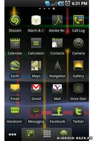 Картинка Nexus S Gingerbread на телефон