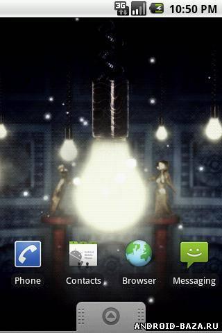 Приложение Fireflies Live Wallpaper v.1.2.0 андроид