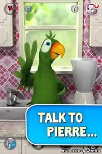 Говорящий попугай Пьер — Полная версия на телефон