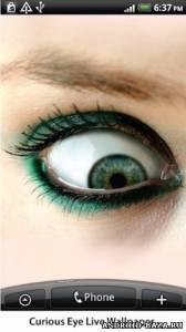 Curious Eye Live Wallpaper — Глаз на планшет