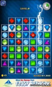 Jewels Maze! — Три в Ряд на планшет