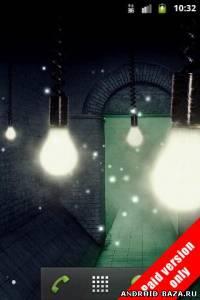 Изображение Fireflies Live Wallpaper v.1.2.0 на телефон