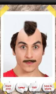 Make me bald — Сделай себя лысым на планшет