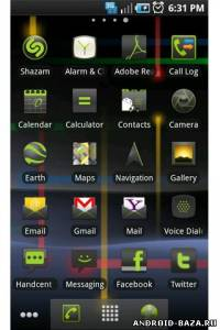 ADW Theme: Nexus S Gingerbread — Тема ADW Launcher на телефон
