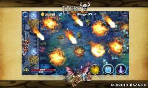 Hero of Might and Magic — Оборона Замка на планшет