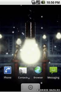 Fireflies Live Wallpaper андроид