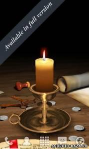3D Melting Candle LWP - Свеча 2