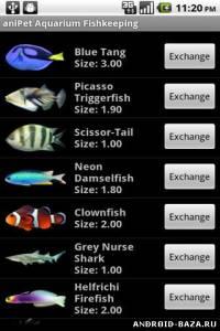 aniPet Aquarium Live Wallpaper v2.5 — Аквариум на планшет