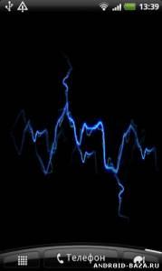 "Electric Touch — Живые Обои ""Молния"" 3"