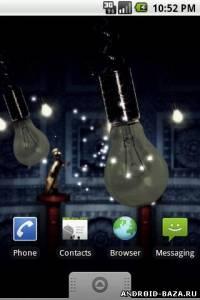 Миниатюра Fireflies Live Wallpaper v.1.2.0 Android