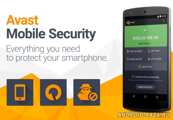 Скачать Avast! Mobile Security для андроид