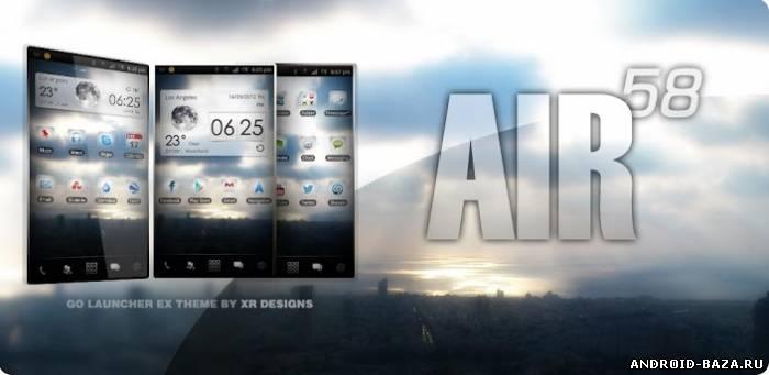 AIR 58 Go Launcher EX Theme андроид