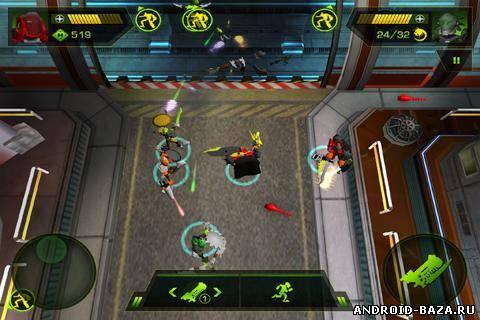 Скриншот LEGO HeroFactory Brain Attack на планшет