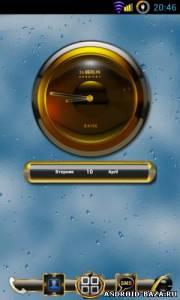 RAISE Clock Widget — Виджет Часов на планшет