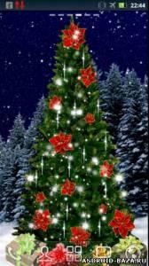 Christmas Tree Live Wallpaper. Скриншот 3