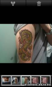 TattooCam: Virtual Tattoo Pro на планшет