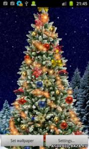 Christmas Tree Live Wallpaper. Скриншот 2