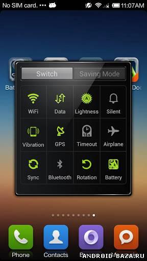 Скриншот Battery Doctor на планшет