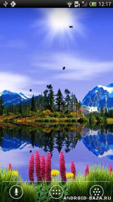 Mountain Lake Live Wallpaper Full на телефон