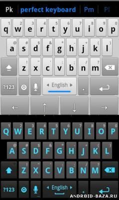 Perfect Keyboard Pro на планшет