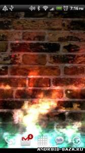 KF Flames Donation Live Wallpaper на планшет