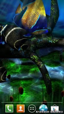 My 3D Fish II — 3D аквариум. Скриншот 2