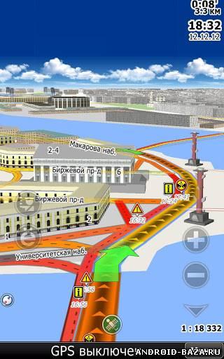 Картинка CityGuide7 GPS навигатор на телефон