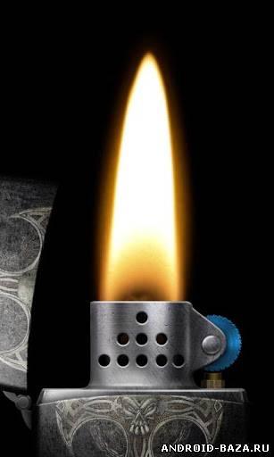 Скриншот 3D Virtual Lighter на планшет