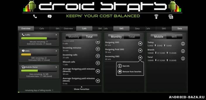 DroidStats Premium 3.5.3
