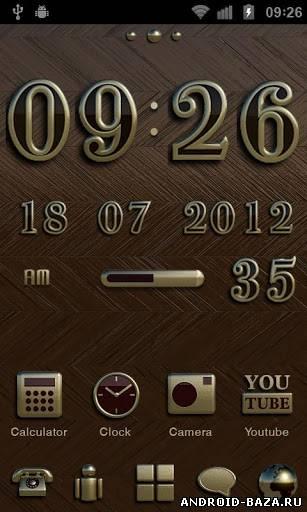Скриншот NEW YORK Theme GO Launcher EX на планшет